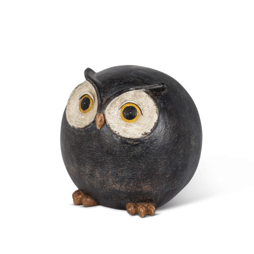 Round Owl Tabletop Decor