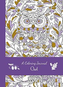Owl Coloring Jotter Journal - Owl Aisle
