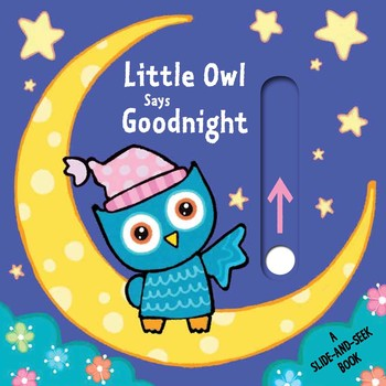 Slide & Seek- Little Owl Says Goodnight Book - Owl Aisle