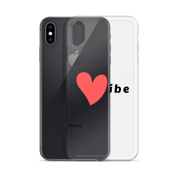 Black Vibe Logo iPhone Case