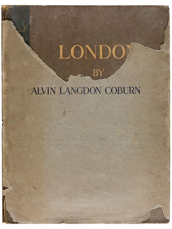 Alvin Langdon Coburn London 1909 First edition dust jacket
