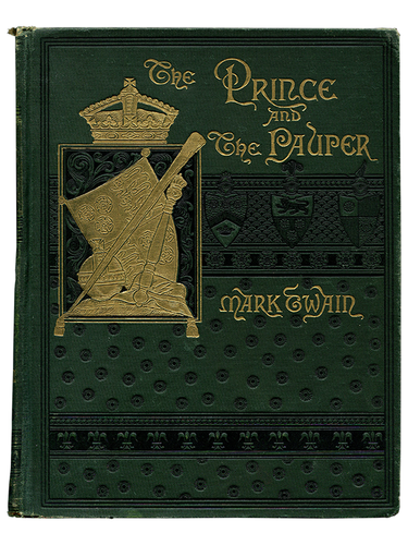 Mark Twain [Samuel L. Clemens]. The Prince and the Pauper. 1889. First edition.