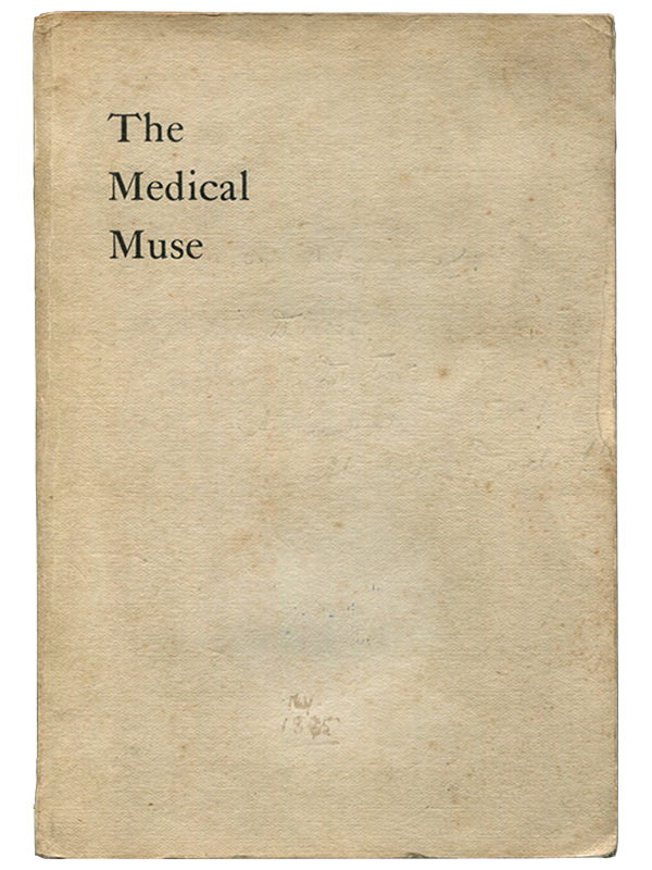 [Mark Twain (contributor)]. John F. B. Lillard (editor). The Medical Muse. Grave and Gay. [1895]. First edition.