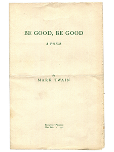 Be Good, Be Good