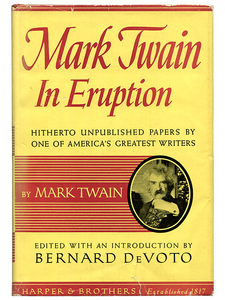 Mark Twain in Eruption