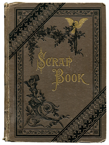 Mark Twain [Samuel L. Clemens]. Mark Twain's Scrap Book. 1878. First edition.