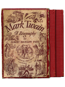 [Mark Twain]. Albert Bigelow Paine. Mark Twain. A Biography. [1935]. First edition.