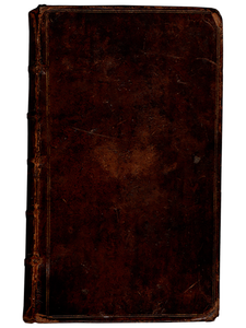 [Robert Dodsley]. The Oeconomy of Human Life. 1751 [really November 1750]. First edition.