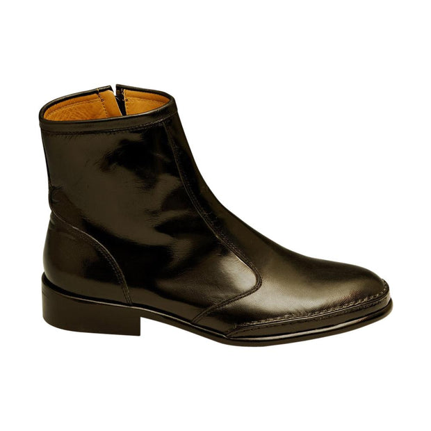 John Mens Leather Dress Boot