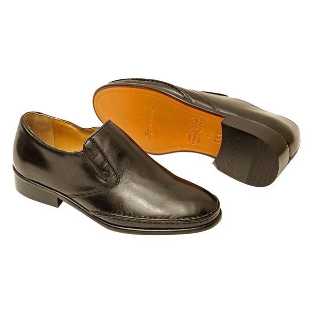 Uomo Mens Slip on Leather Shoe