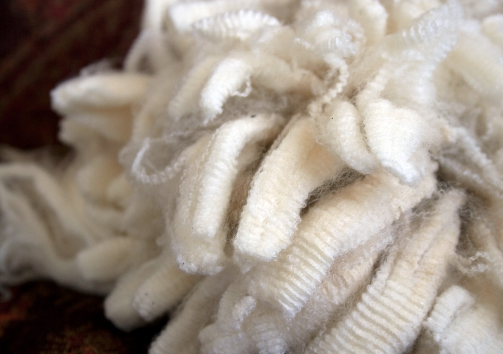 Merino wool has a natural crimp