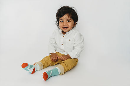 Toddler socks - designed to be worn mismatched