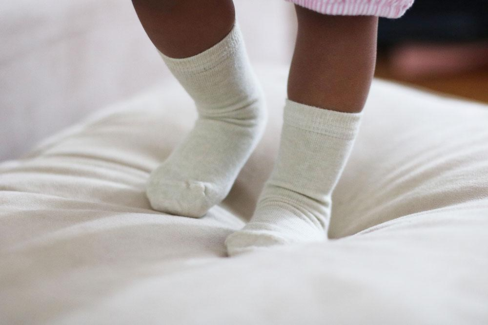 organic cotton socks for sensitive skin