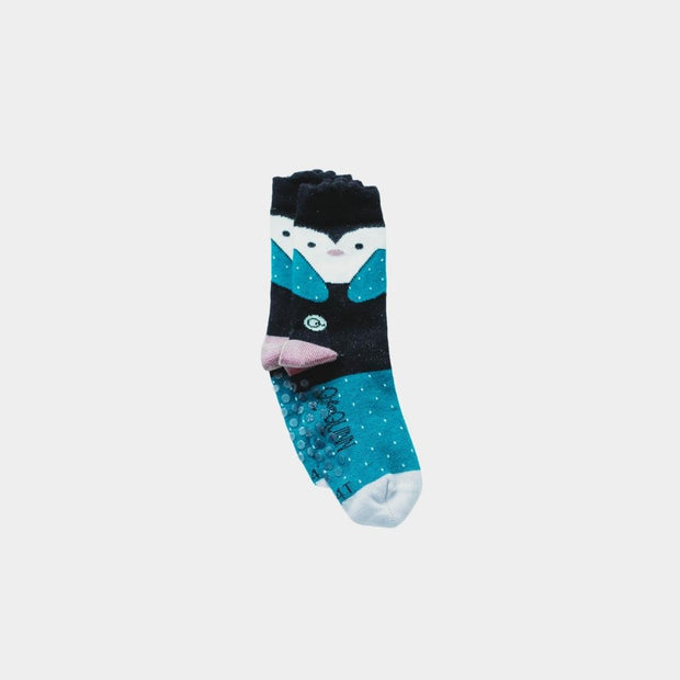 adult merino wool socks set, grey and blue with stripes