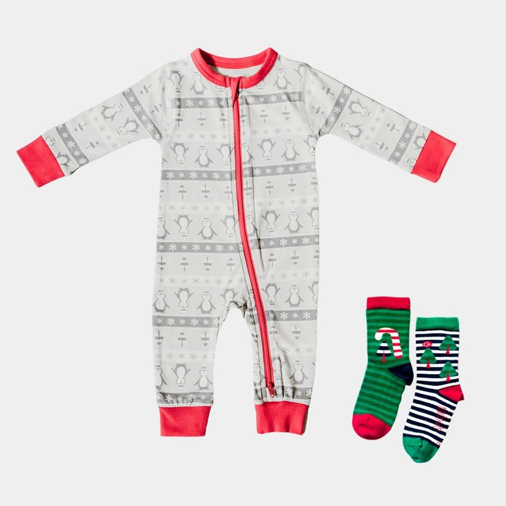 Winter Wonderland Baby Onesie Gift Bundle