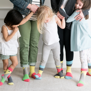 Matching Family Socks, Mommy and Me, Daddy and Me - seamless, organic cotton
