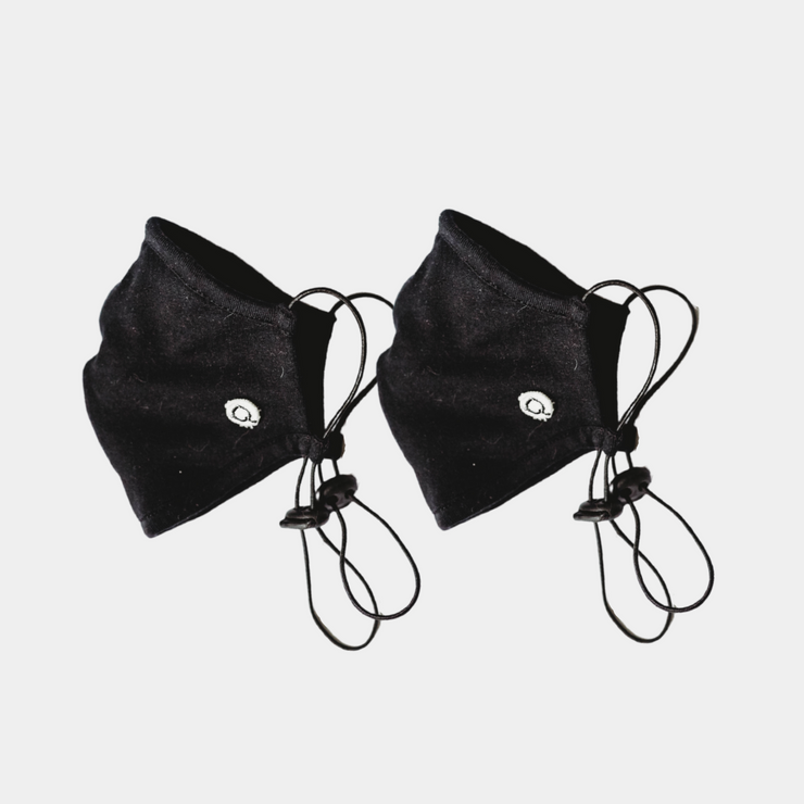 Kids Face Mask v3.0 - 2 pack - Black or Navy