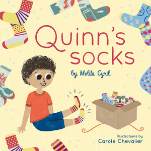 Quinn's Socks - Hardcover - Q for Quinn