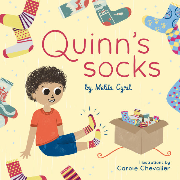 Quinn's Socks - Hardcover | Q for Quinn