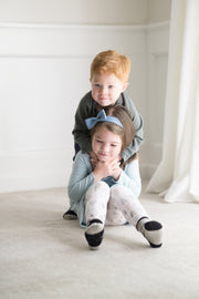 Monochrome Monsters - Organic Baby, Toddler and Kids Socks | Q for Quinn
