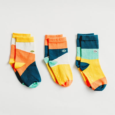 blocks of colour, gender neutral socks