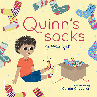 Book and Matching Socks - Quinn's Sports | Q for Quinn