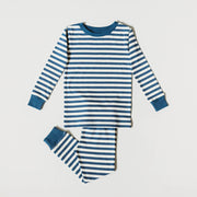 Organic Cotton Toddler, Kids Pajamas - Sailor Stripes