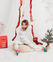 Organic Cotton Toddler, Kids Pajamas - Winter Wonderland