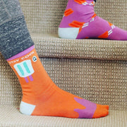 women's seamless socks - organic cotton