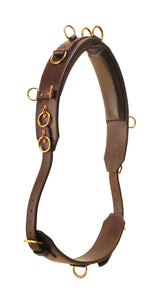 Deluxe Bridle Leather Surcingle