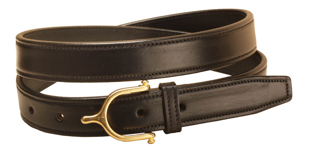 Tory Leather Spur Buckle Belt