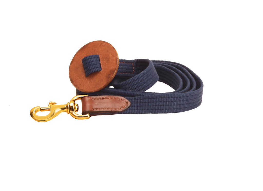 Tory Leather Web Cotton Lead
