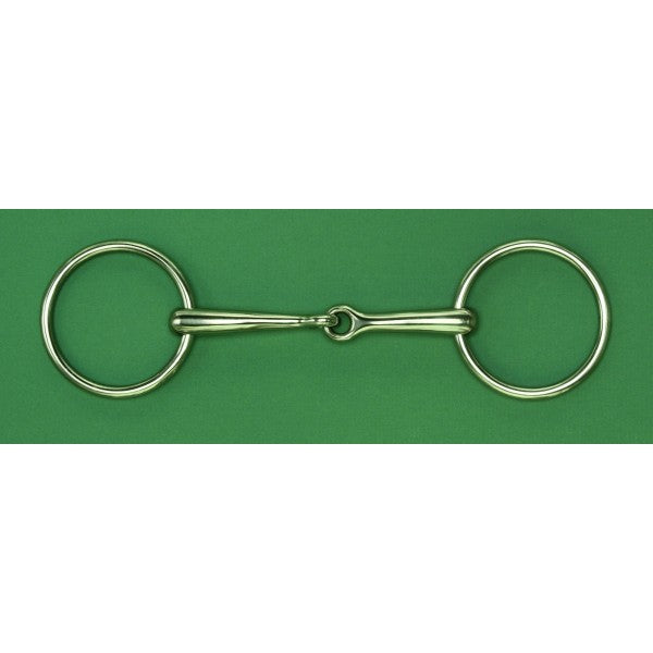 AlBaCon German Silver Loose Ring Snaffle