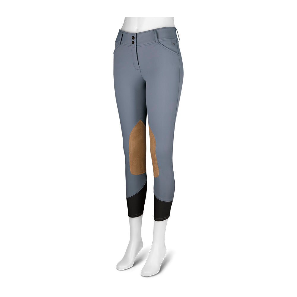 R.J Classic Ladies' Gulf Low-Rise Breech- Folkstone Grey