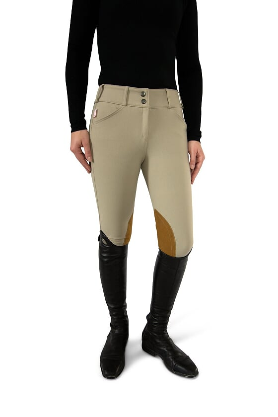 Tailored Sportsman Ladies' Sock Bottom Trophy Hunter Breech- Front Zip Low Rise