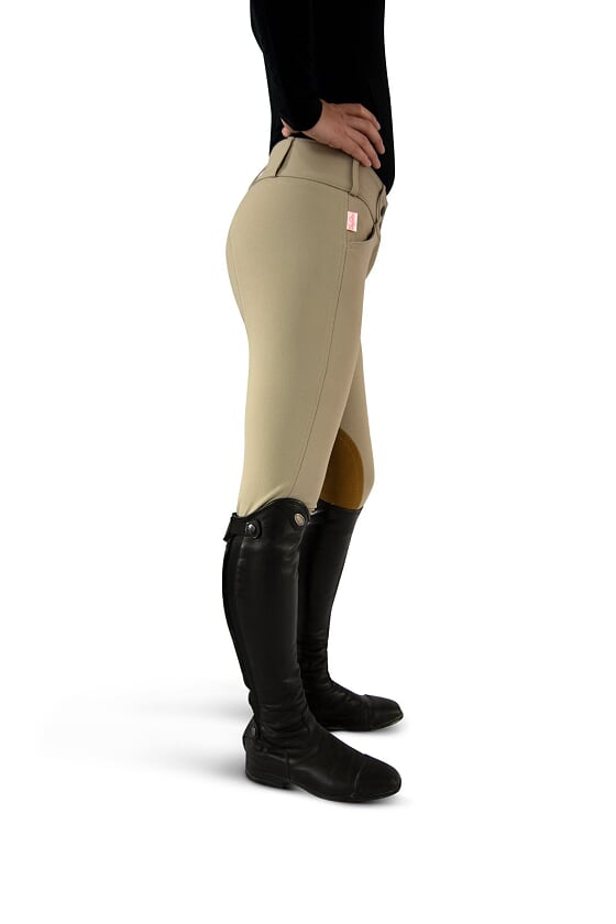 Tailored Sportsman Ladies' Trophy Hunter Breech-Front Zip Mid Rise