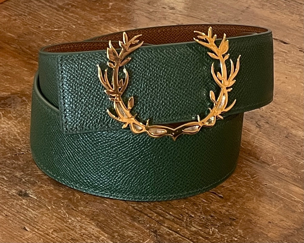 SVS Emblem Reversible Custom Strap Belt