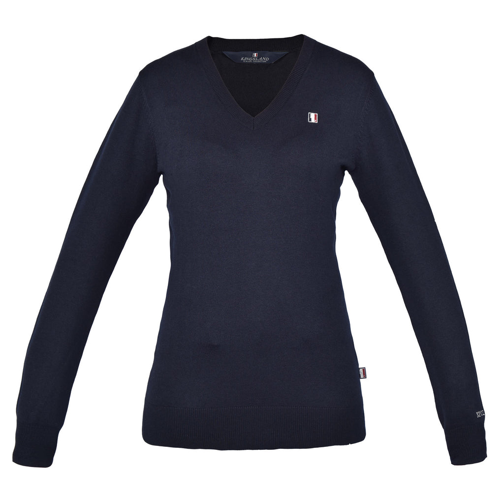 Kingsland Classic Ladies' Pullover V-Neck Sweater