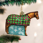 Snowflake Horse Ornament
