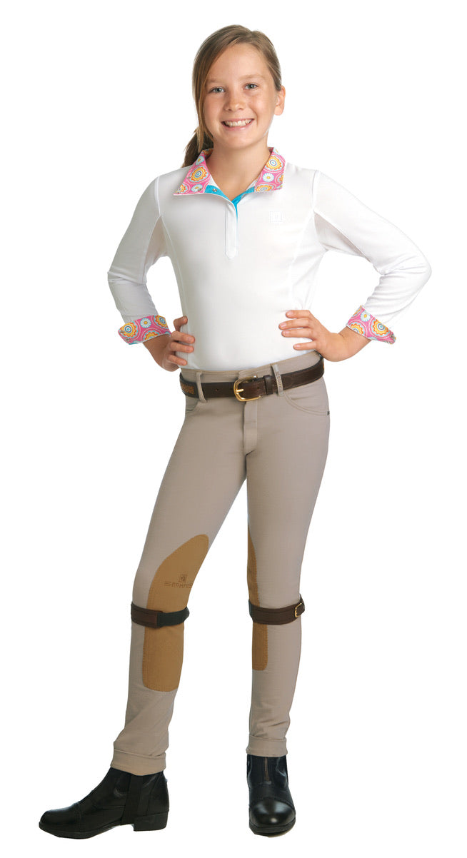 Romfh International Girls' Knee Patch Jodhpurs