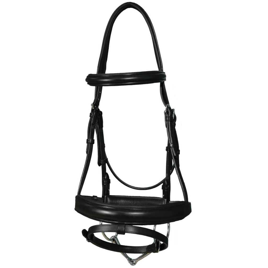Vespucci Traditional Dressage Snaffle Bridle
