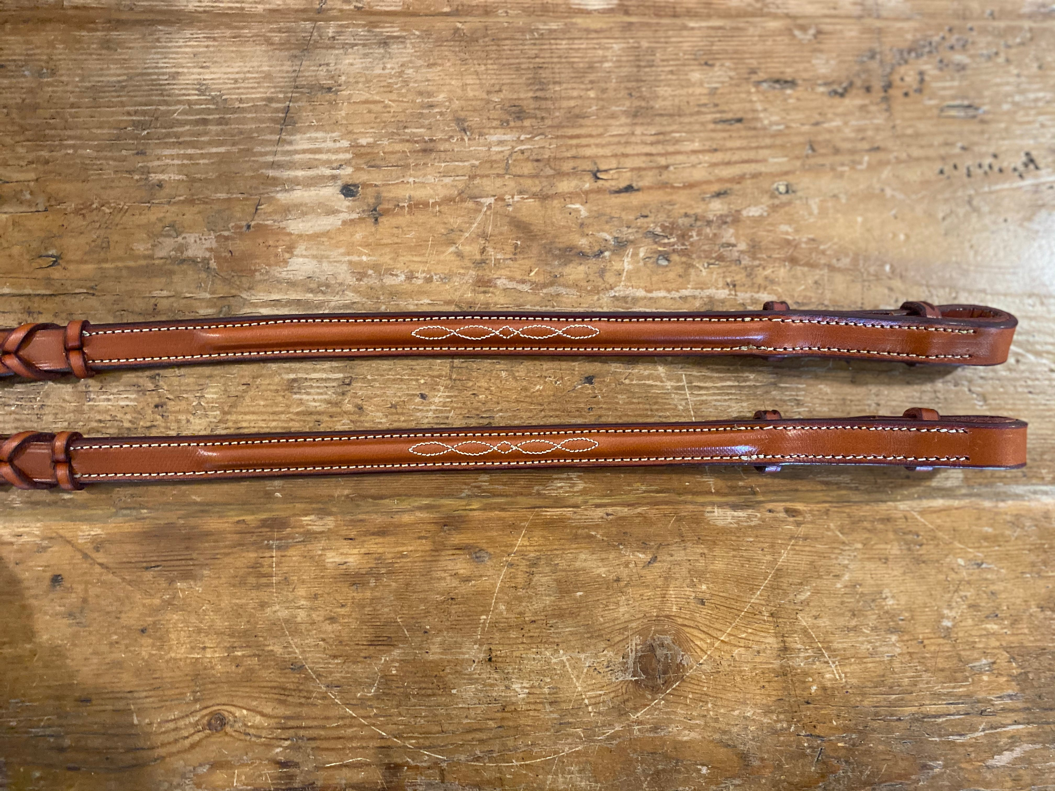 Edgewood Raised Fancy Stitched Laced Reins