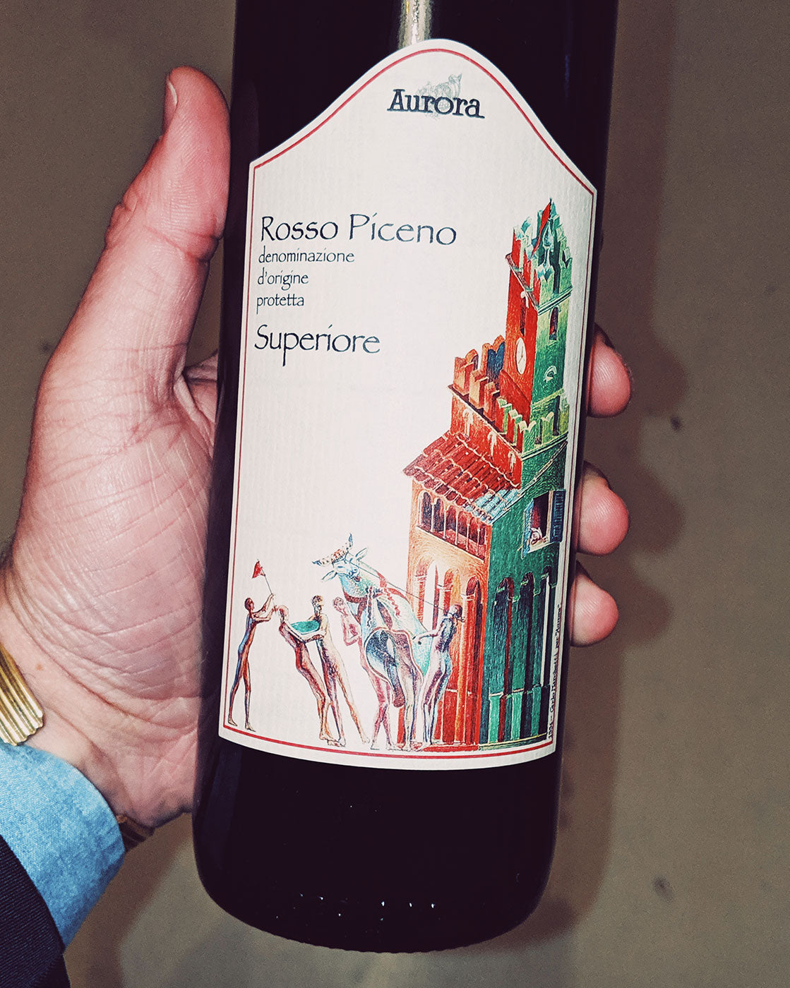 P Johnson Wine review: Aurora Rosso Piceno DOP Superiore 2016