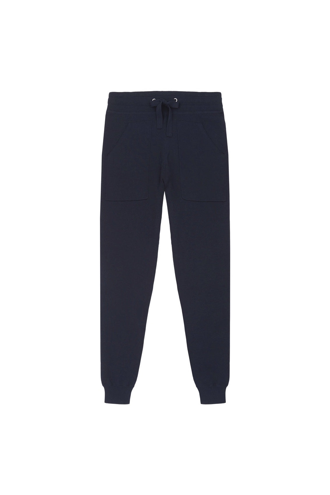 Navy Knitted Trackpants