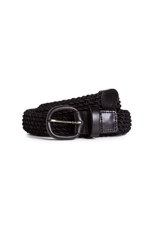 Black Elasticated Belt