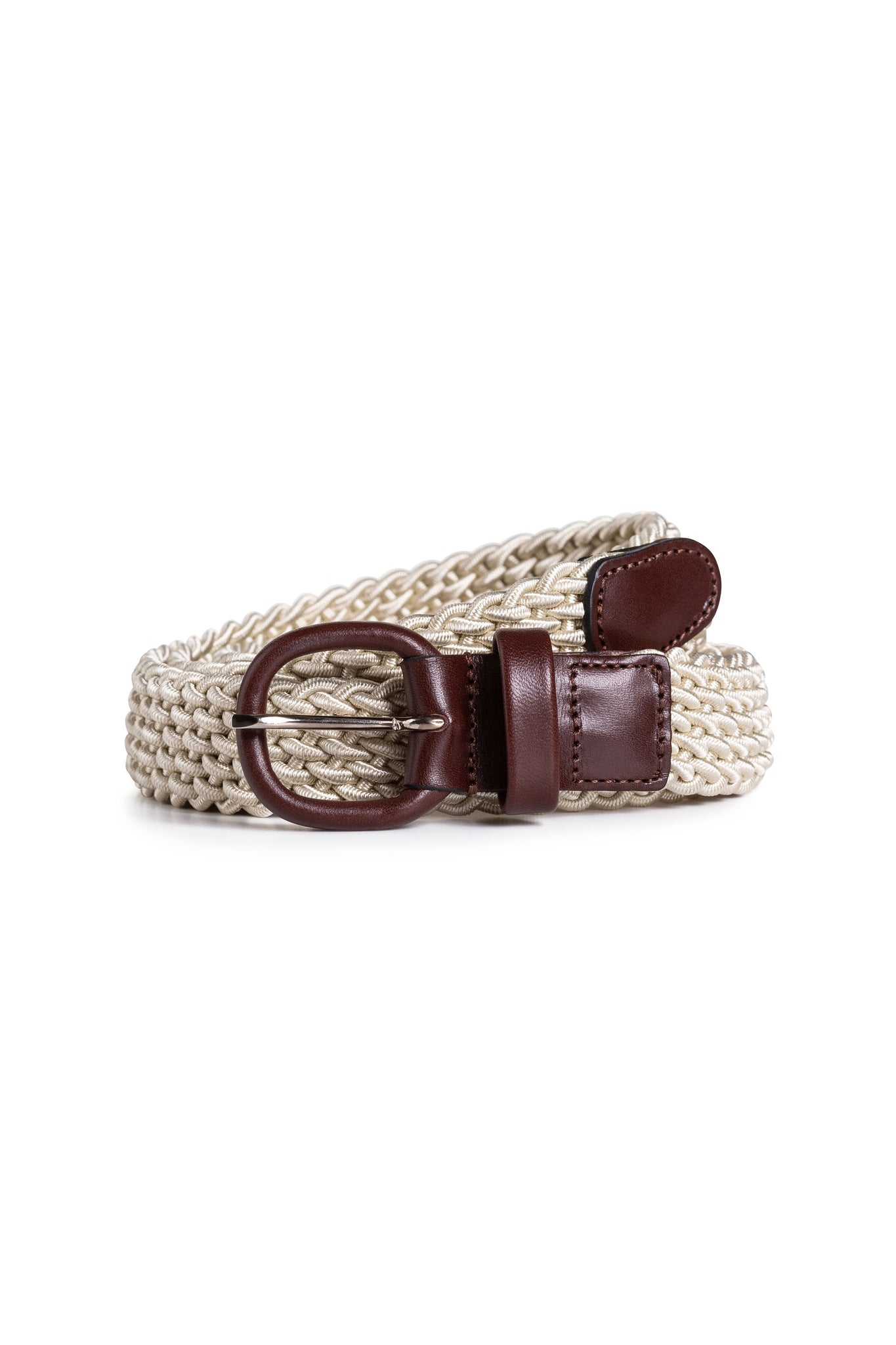 Beige Elasticated Belt