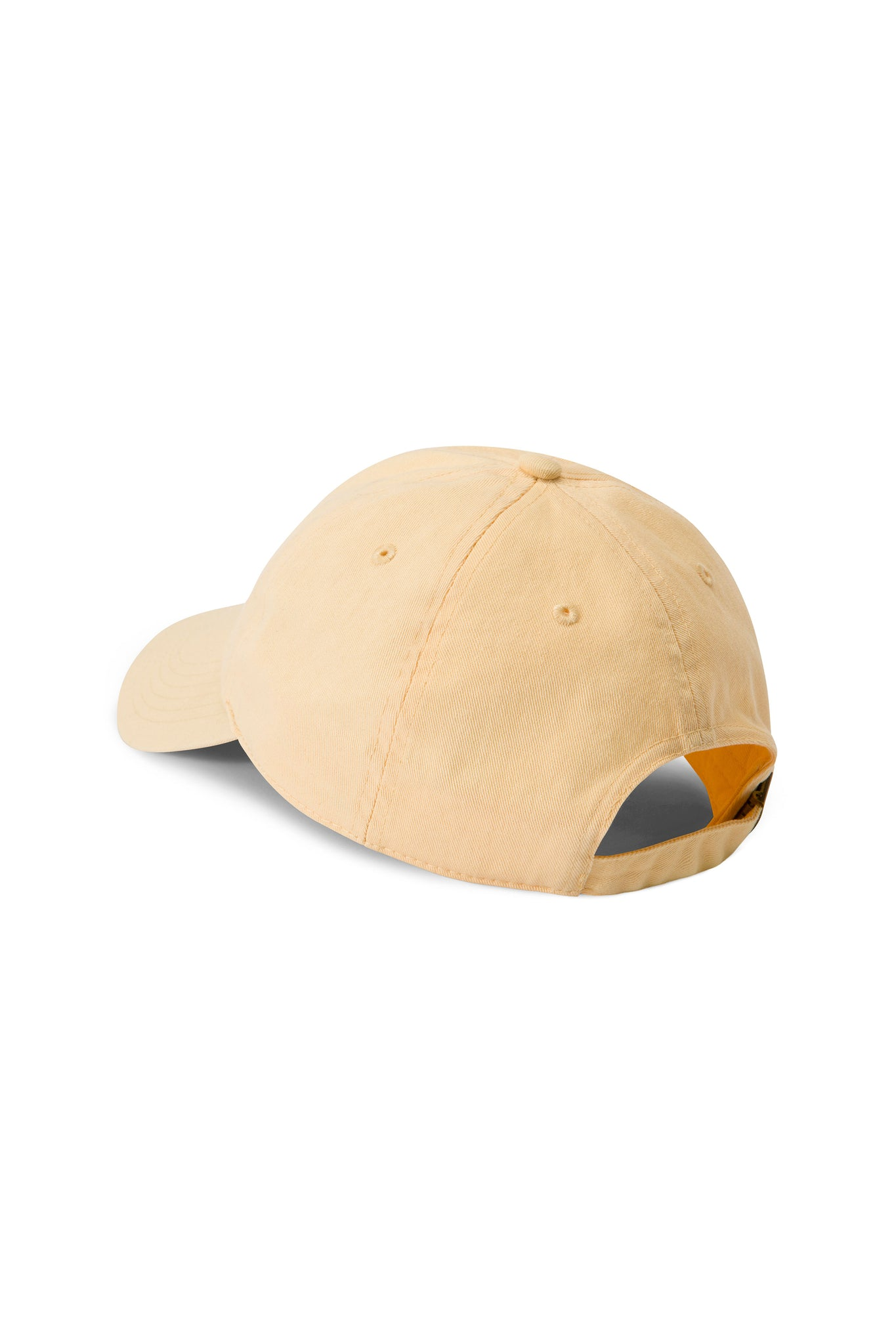 Palm Beach Yellow Shortstop Cap with Navy Logo