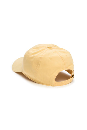 Palm Beach Yellow Shortstop Cap with Grey Polar Bear