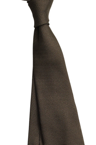 Chocolate Small Grenadine Tie
