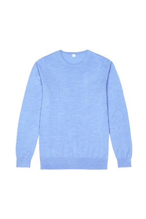 Light Blue S160 Merino Wool Pullover
